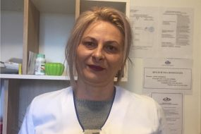 <b>Viorica DONIE</b></br>Asistent medical