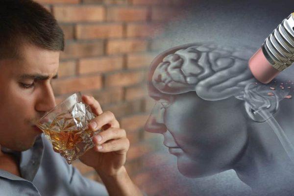 Simptome comune ale alcoolismului: Pierderea memoriei