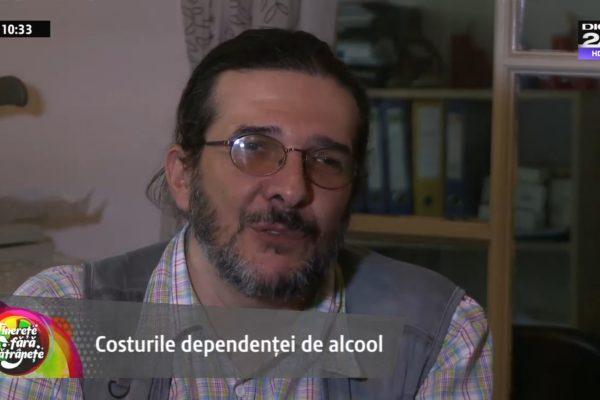 """Alcoolismul – Cea mai netratată boală din România. """"Beam și un litru de votcă pe noapte!"""""""
