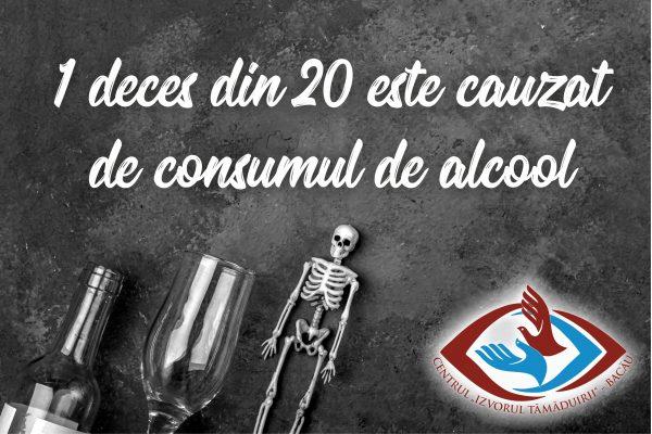 1 deces din 20 este cauzat de consumul de alcool